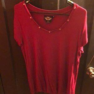 Harley Davidson Dressy short sleeve shirt